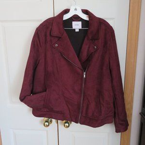 old navy velvet double breasted jacket